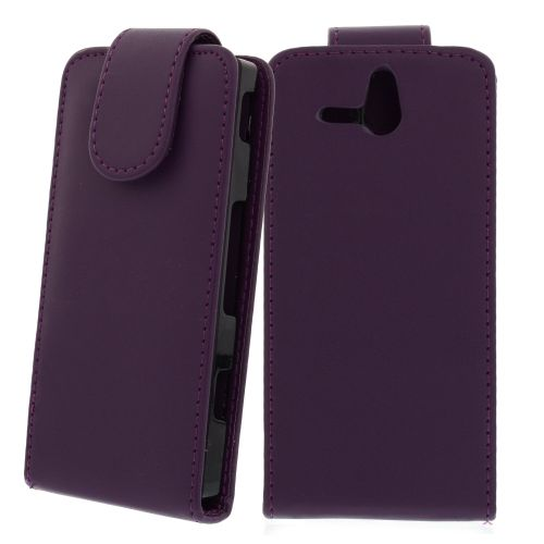 FLIP калъф за Sony Xperia U Purple (Nr 33)
