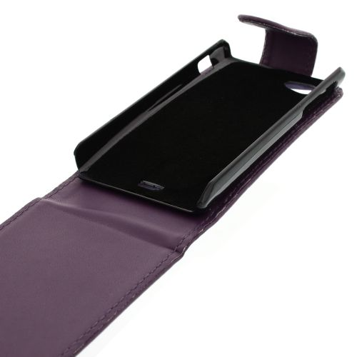 FLIP калъф за Sony Xperia J Purple (Nr 33)