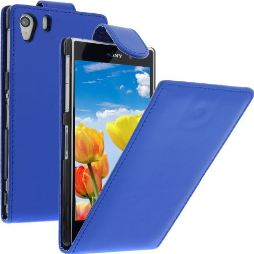 FLIP калъф за Sony Xperia Z1 Blue