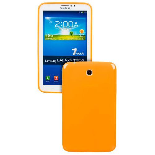 Силиконов кейс за Samsung Galaxy Tab 3-7'' P3200 Orange +SP