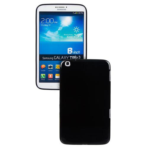 Силиконов кейс за Samsung Galaxy Tab 3-8'' T3110 Black+SP