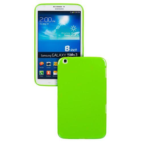 Силиконов кейс за Samsung Galaxy Tab3-8'' T3110 Green +SP