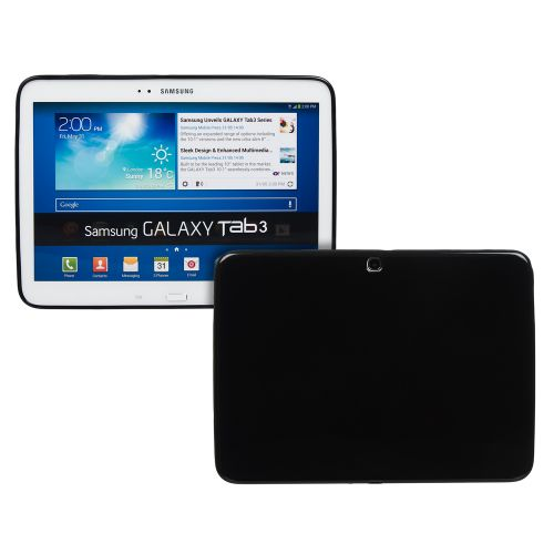 Силиконов кейс за Samsung Galaxy Tab3-10,1''P5200 Black+SP