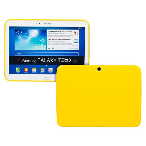 Силиконов кейс за Samsung Galaxy Tab3-10,1''P5200 Yellow+SP