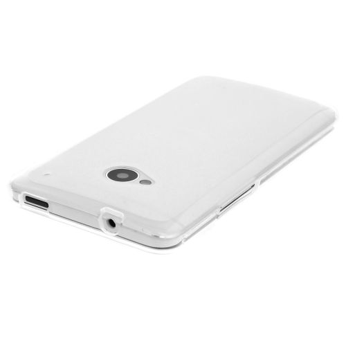 Силиконов кейс за HTC One M7 White