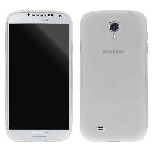 Безцветен Силиконов кейс за Samsung Galaxy S4 White