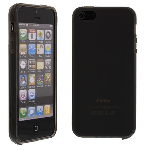 Силиконов кейс за iPhone 5S 5G Black