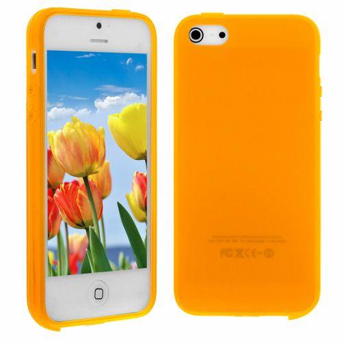 Силиконов кейс за iPhone 5S 5G Yellow