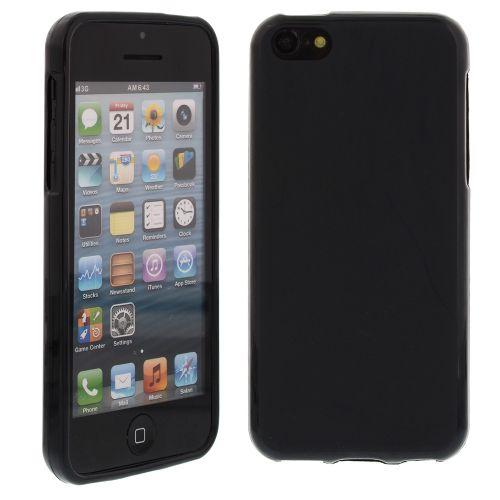 Силиконов кейс за iPhone 5C Black
