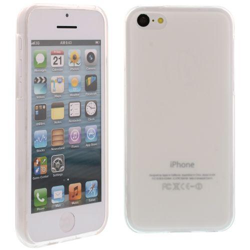 Силиконов кейс за iPhone 5C White