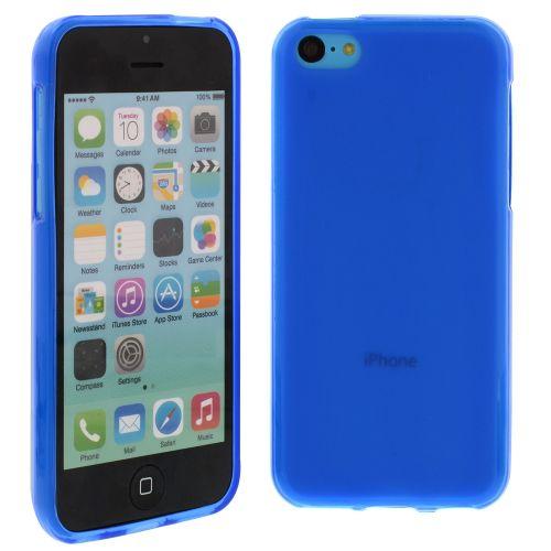 Силиконов кейс за iPhone 5C Blue