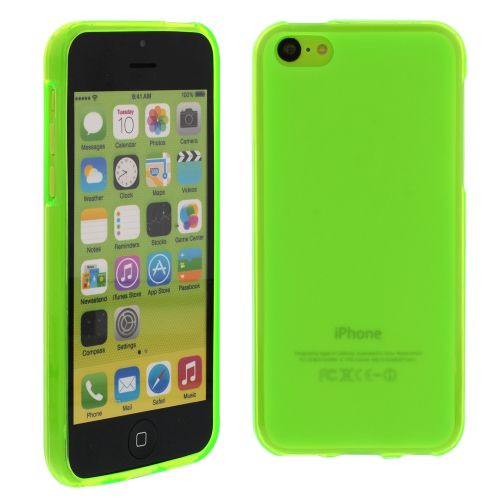 Силиконов кейс за iPhone 5C Green
