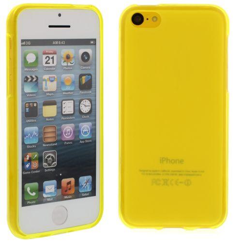 Силиконов кейс за iPhone 5C Yellow