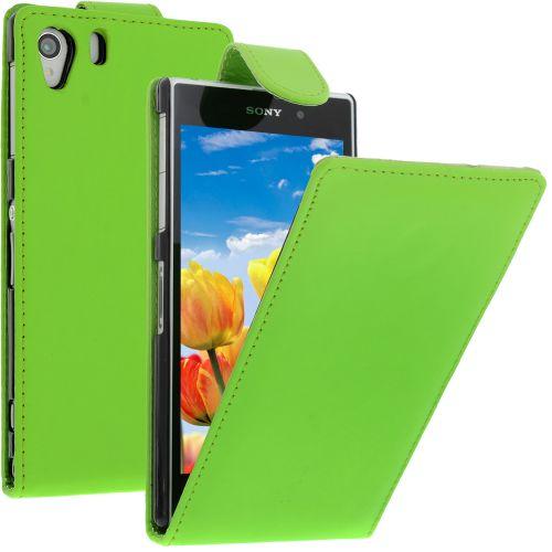 FLIP калъф за Sony Xperia Z1 Green