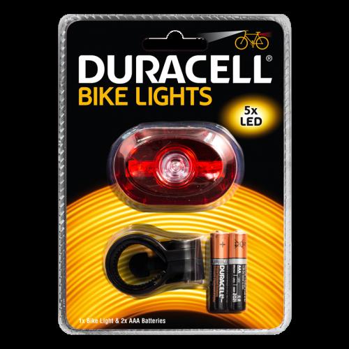 Фенер за велосипед Duracell Bike Light B03 + 2xAAA BL1