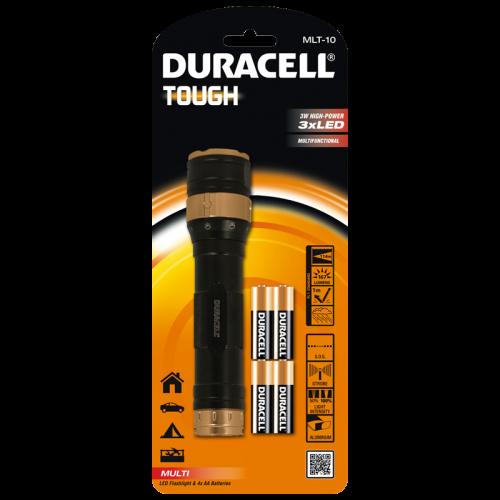 Фенер Duracell Tough Multi MLT-10 + 4xAA