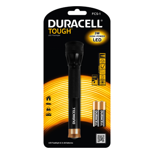 Фенер Duracell Tough Focus FCS-1 + 2xAA
