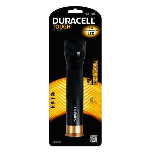 Фенер Duracell Tough Focus FCS-100 (2xD) - без батерии