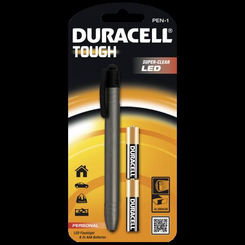 Фенер Duracell Tough Penlight PEN-1 + 2xAA