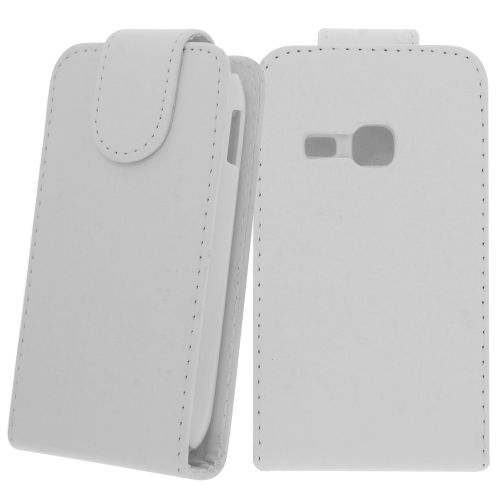 FLIP калъф за Samsung Galaxy Young Duos S6312 White(Nr 15)