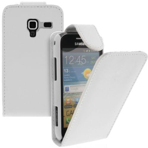 FLIP калъф за Samsung Galaxy Ace 2 GT-i8160 White