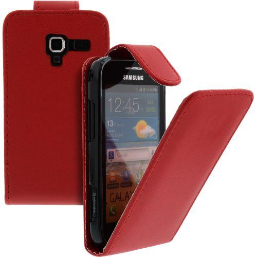 FLIP калъф за Samsung Galaxy Ace 2 GT-i8160 Red