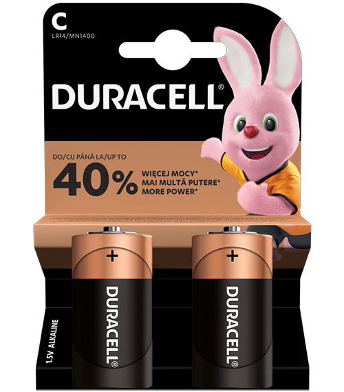 Алкални батерии LR14 - C - Duracell Basic MN1400