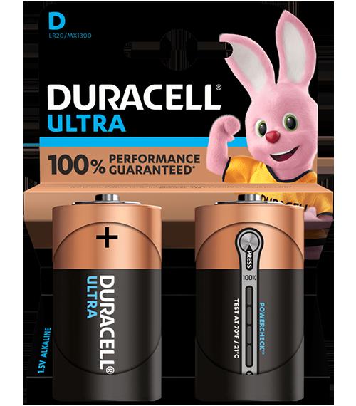 Duracell Ultra Power MX1300 D BL2