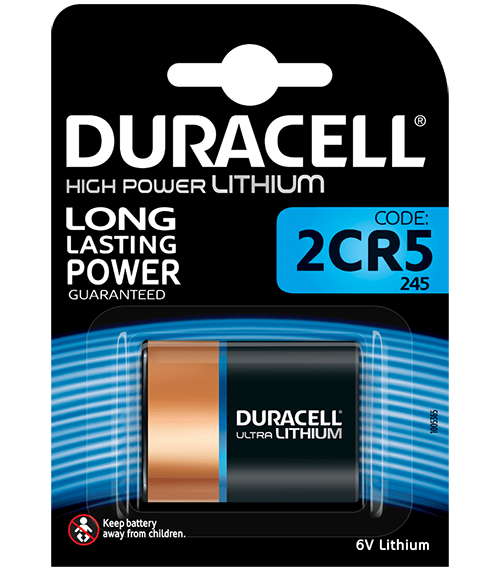 Литиева батерия 2CR5 DL245A - Duracell