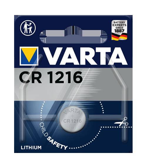 Литиева батерия CR1216 Varta CR1216 - 3V