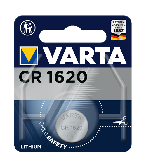Литиева батерия CR1620 - Varta