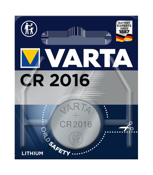 Литиева батерия CR2016 Varta CR2016 -3V
