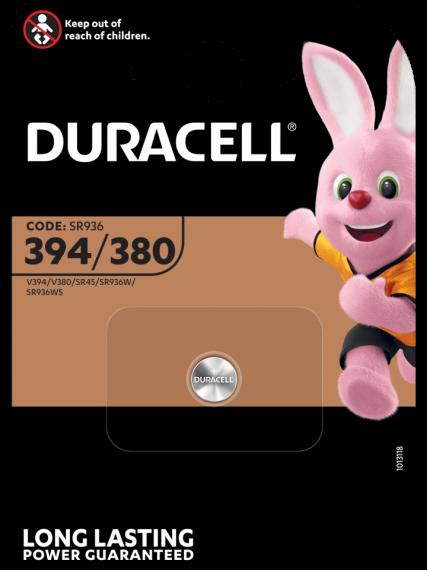Батерия за часовник 394 - SR936SW - Duracell D394
