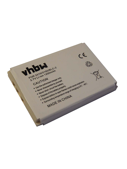 Батерия за Nokia 3310 3410 3510 BLC-2 3.7V 1200 mAh