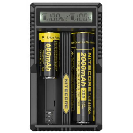 Зарядно за Li-Ion батерии 18650 Nitecore UM20 с LCD дисплей
