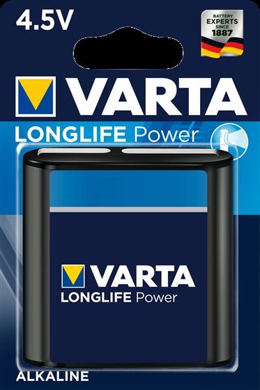 Алкална батерия 3LR12 4.5V Varta Longlife Power 4.5V