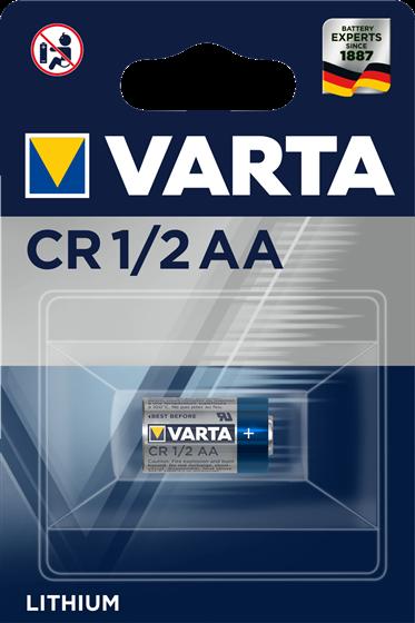Литиева батерия CR 1/2 AA Varta Lithium АА 14250 - 3V