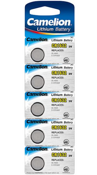 Литиеви батерии CR1632 Camelion CR1632 -3V