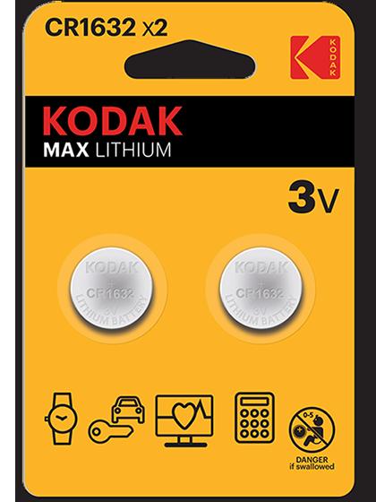 Литиеви батерии CR1632 Kodak KCR1632 -3V