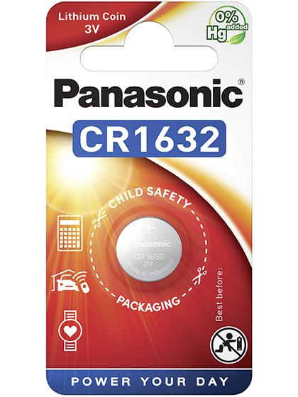 Литиева батерия CR1632 Panasoniic CR1632 - 3V
