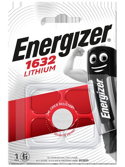 Литиева батерия CR1632 Energizer CR1632 - 3V