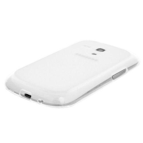 Силиконов кейс за Samsung Galaxy S3 Mini i8190 White