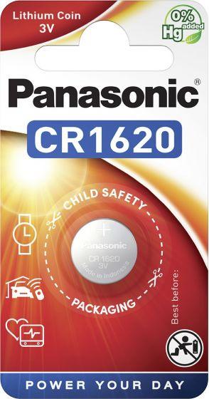 Литиева батерия CR1620 Panasonic CR1620 - 3V