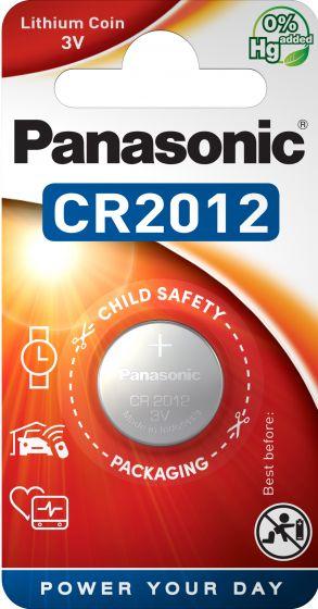 Литиева батерия CR2012 Panasonic CR2012 - 3V
