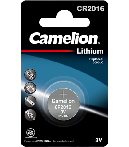 Литиева батерия CR2016 Camelion CR2016 -3V