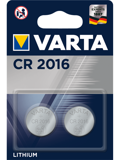 Литиеви батерии CR2016 Varta CR2016 - 3V