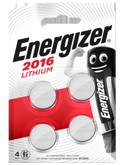 Литиеви батерии CR2016 Energizer ECR2016 - 3V