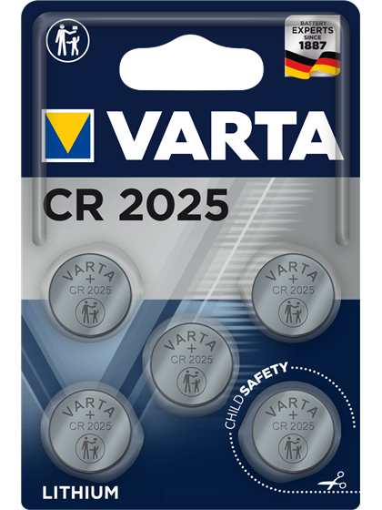 Литиеви батерии CR2025 Varta CR2025 - 3V 5 батерии