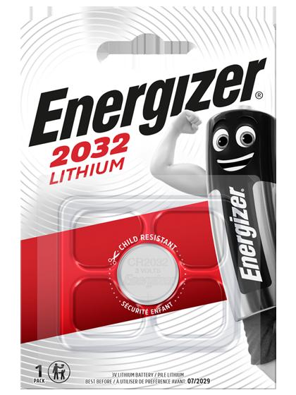 Литиева батерия CR2032 Energizer ECR2032 - 3V