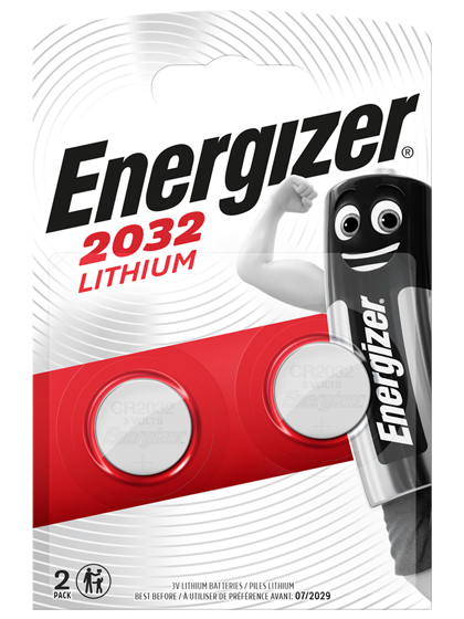 Литиеви батерии CR2032 Energizer ECR2032 - 3V